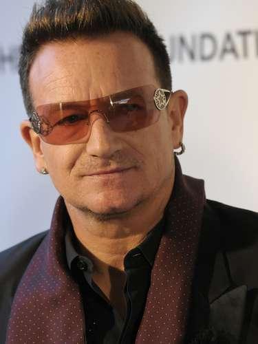 Bono consiguió el 37% de los votos gracias a su buen corazón y fue apodado como 'activista'.