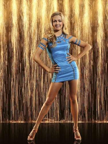 Bailarina profesional: Lindsay Arnold.