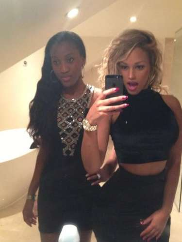 Fanny Neguesha often posts photos of herself on her social networking sites.