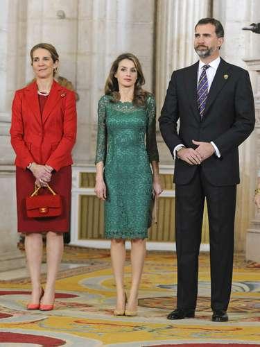 Los príncipes han asumido la agenda de don Juan Carlos, de baja tras su operación de hernia discal.