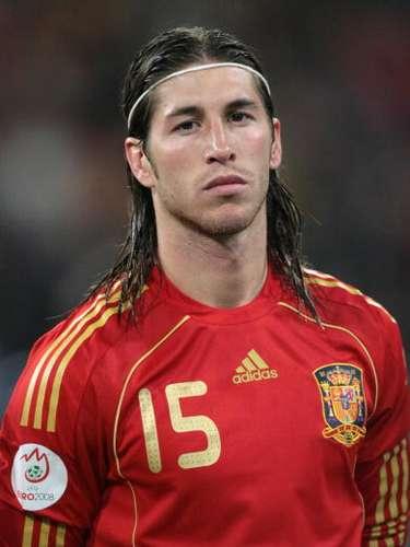 Ramos en la Eurocopa 2008, en Austria y Suiza