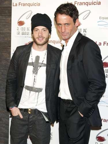 Alessandro, compañero dle jinete en 'MQS', también quiso acompañar al empresario en un día tan especial.
