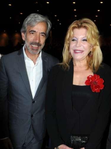 El actor Imanol Arias fue otro de los grandes premiados de la noche, pues se le hizo entrega de un premio turístico.