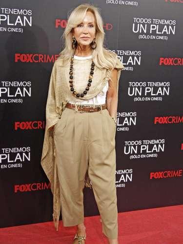 Ella es la 'reina' del glamour y la elegancia. Siempre que hace comentarios sobre el estilo de las famosas crea polémica.