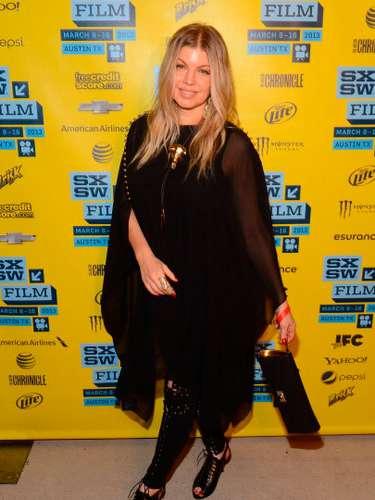 Su esposo Josh había dicho en un programa de tv que él quería tener al menos 5 hijos. Fergie el 8 de marzo de 2013 en Austin, Texas