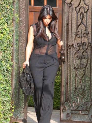 Kim Kardashian no ha renunciado a las transparencias