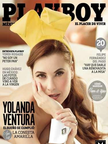 La entrevista a Yolanda Ventura en Playboy fue realizada por su propia pareja,el actor Odiseo Bichir, y en ella habla sobre su carrera, su intimidad y sus proyectos para el futuro.
