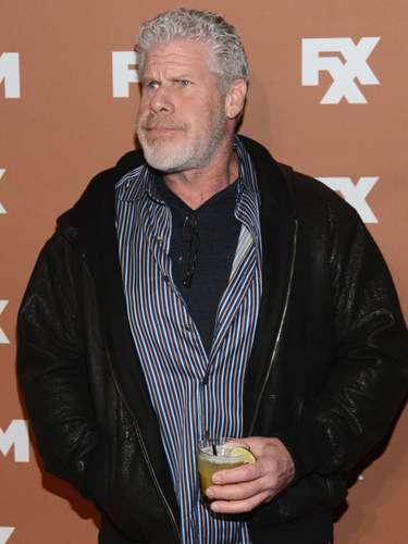 Ron Pearlman, el actor consentido de Guillermo del Toro, también es 'siniestro'.