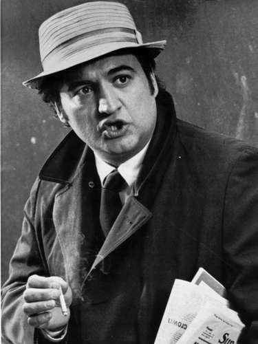 El comediante John Belushi, estrella de Saturday Night Live, murió en 1982