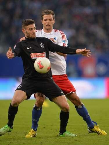 Hamburgo no pudo en casa y fue derrotado 1-0 porFriburgo.