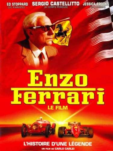 Enzo Ferarri (2003). Es una película biográfica, en donde cuenta la historia de Enzo Ferrari, de ser un piloto exitoso a uno de los empresarios más famosos de todo el mundo.