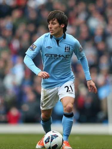 David Silva ha tenido una etapa importante en su paso por el Manchester City, en esta temporada suma cuatro goles y siete asistencias.