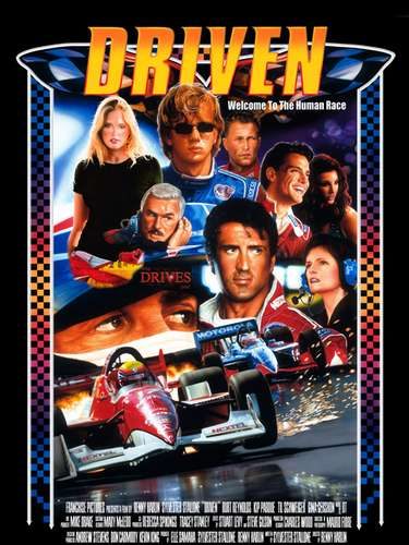 Driven (2001). Es una película dirigida por Renny Harlin y protagonizada por Sylvester Stallone, trata sobre carreras de la ChampCar pero dándole un enfoque de Fórmula Uno.