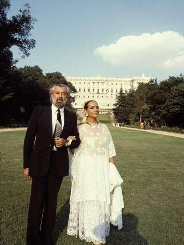 Sara Montiel con su marido, Pepe Tous, con el que se casó en 1979. Fue su segundo marido y al que nunca olvidará.