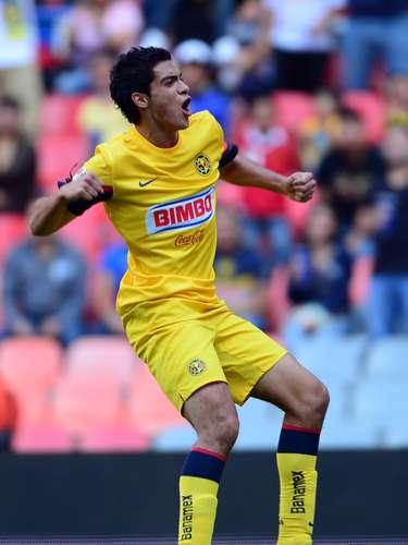 Raúl Jiménez es el hombre gol de América en el torneo y buscará hacer más tantos frente a los Panzas Verdes
