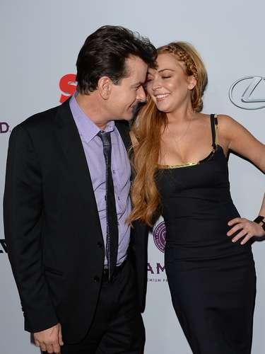 Se decía que los polémicos actores no se llevaban bien después de que Carlie prestara dinero a Lindsay