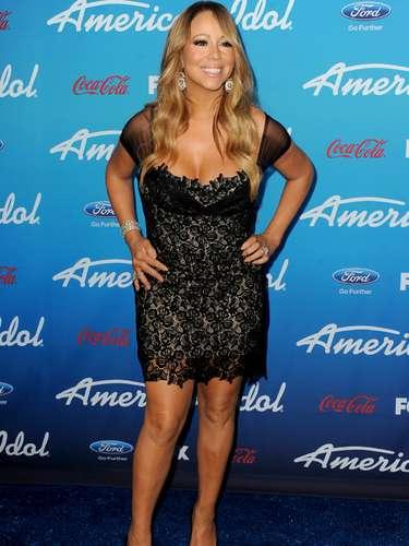 La cantante Mariah Carey tuvo a Monroe y Scott, sus gemelos, en abril de 2011, a los 41 años.