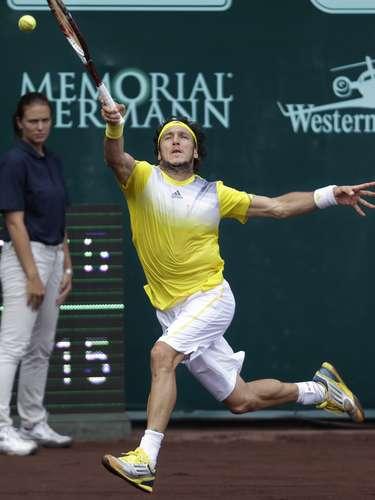 Mónaconunca encontró su mejor concentración sobre la pista de arcilla del Club de Tennis River Oaks, de Houston.