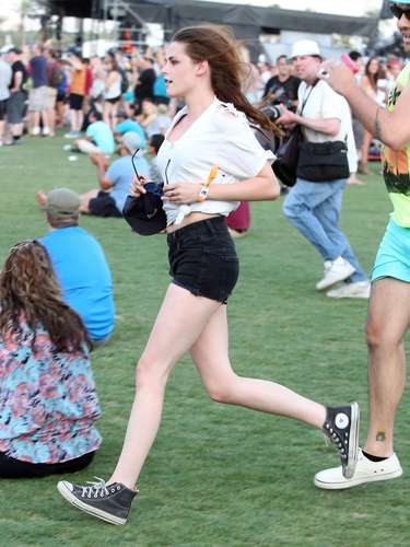 Kristen Stewart, a la carrera.