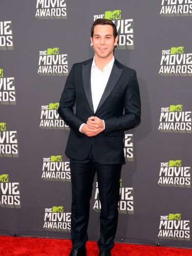 Uno de los más elegantes de la noche en la entrega de los premios MTV Movie Awards 2013