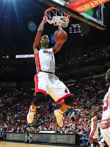 Chris Bosh espera dar su mejor versión en play-offs para hacer campeones a los Heat de nuevo