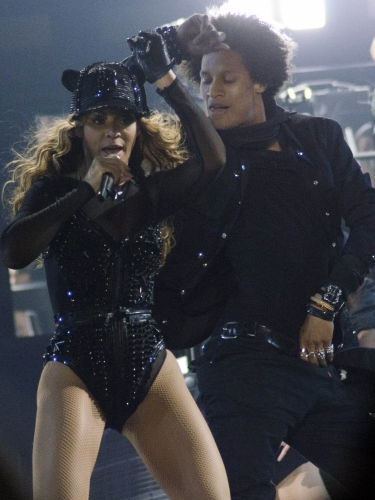 Singer Beyoncé performs on the opening night of her \