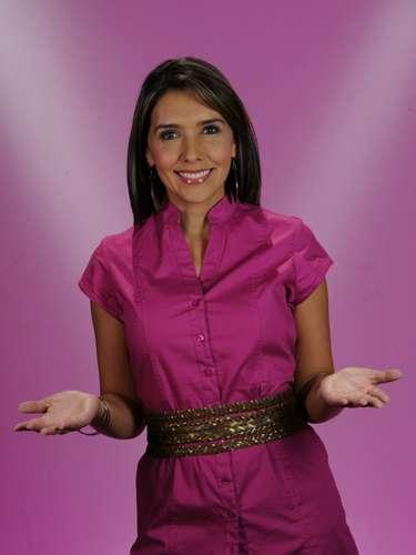 La presentadora Mónica Rodríguez, de Día a día, se le midió al reto de participar en 'El Desafío 2013'.