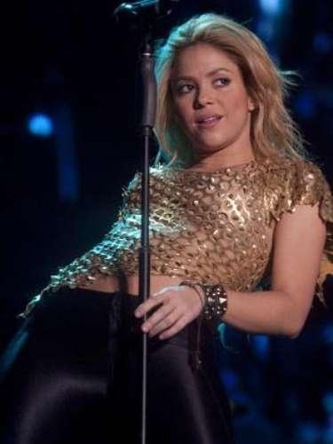 Shakira en su última série de conciertos por el mundo no se cansó de mover las caderas, como solo ella lo sabe hacer.