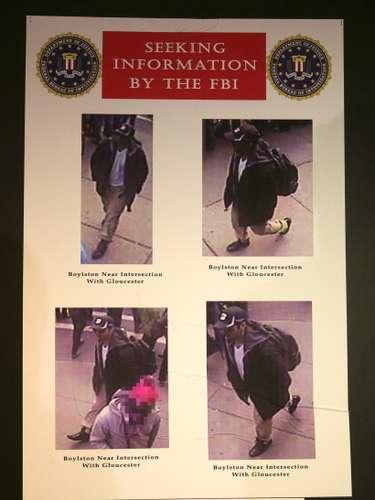 El FBI colgó en su web www.fbi.gov varias imágenes y un video de los dos hombres, denominados \