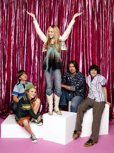 Miley Cyrus se hizo famosa por su papel de estrella del rock en Hanna Montana.