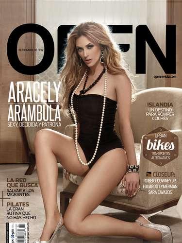 La Chule aseguró para la revista Open que aceptó posar en poca ropa porque le gusta verse y sentirse sexy.