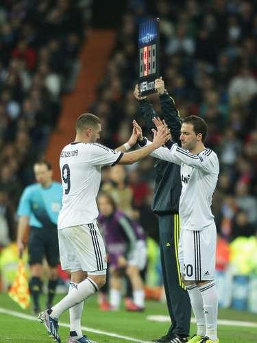 Higuaín o Benzema podrían decirle adiós al Madrid al final de temporada.