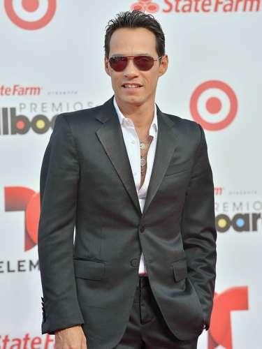 ¿Y la novia? Marc Anthony llegó solito a los Billboard Latinos 2013. ¿Dónde habrá dejado a Chloe?