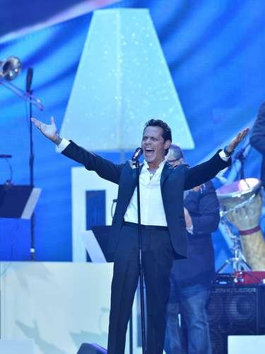 Marc Anthony hizo el debut en vivo de su nuevo hit \