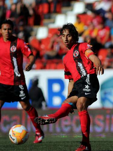 Fernando Arce brings skill and experience to the Xolos midfield.