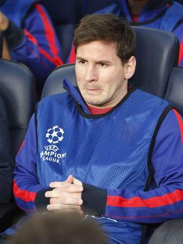 Luego, Thomas Muller anotó el 3-0 definitivo, dejando a Lionel Messi bastante deprimido e impotente, pues vio el juego desde el banco