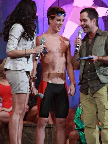 El estudiante Juan Carlos Somoza fue uno de los seis retadores seleccionados para participar en 'La Isla'.