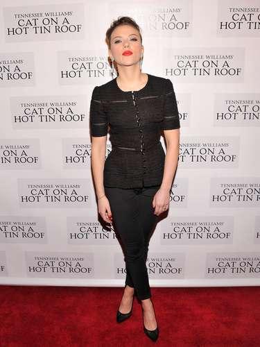 Scarlett Johansson a raíz de su participación en Iron Man 2 perdió 6 kg con un \