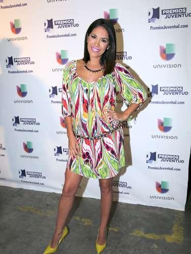 Karla Martínez fue invitada al anuncio de los nominados a los Premios Juventud 2013