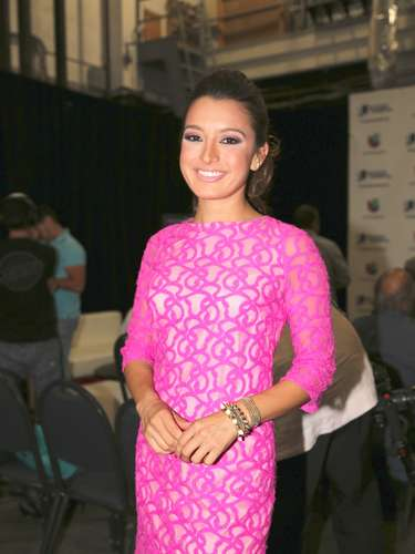 María Antonietafue invitada al anuncio de los nominados a los Premios Juventud 2013