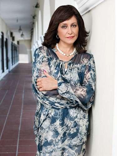 Daniela Romo vuelve a los foros de grabación con el personaje de 'Mercedes Artigas', la madre verdadera de 'Marina'.