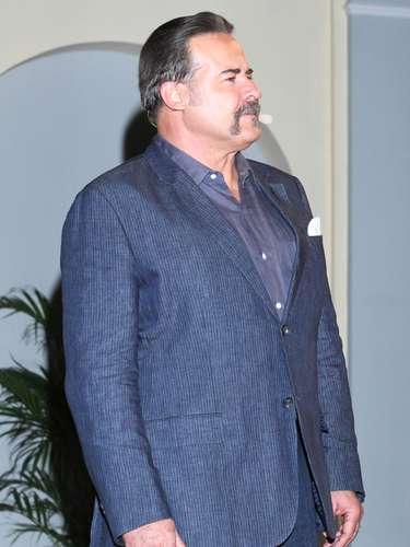 El actor cubano César Évora encarna a 'Fulgencio Mata', otro de los villanos de 'La Tempestad'. 'Fulgencio' es el alcalde de Nuestra Señora del Mar que se vale de todos los medios para aumentar su poder en el pueblo.