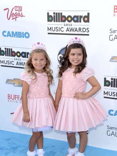 Las niñas sensaciones de internet, Rosie ySofia Grace fueron como reporteras de Ellen DeGeneres pero también como todas unas mini divas.