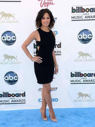 Rocsi Diaz fue de las más bellas en la alfombra azul. La personalidad de televisión fue de las más elogiadas a su llegada a la premiación