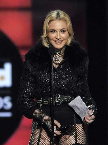 Madonna recibió un premio especial la noche de los Billboard Music Awards 2013.