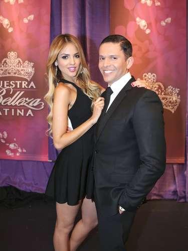 Eiza González y Rodner Figueroa fueron algunas de las figuras que acompañaron a las chicas durante la final de Nuestra Belleza Latina 2013, que coronó a Marisela Demontecristo como la nueva reina del evento.