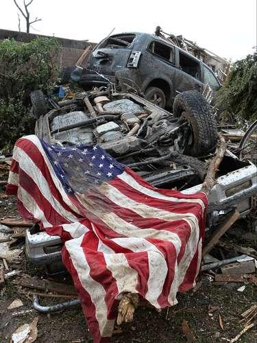 Las grandes planicies estadounidenses son las zonas más propicias para las tormentas, \
