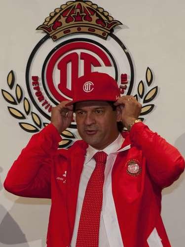 José Saturnino Cardozo es el nuevo técnico de los Diablos Rojos del Toluca