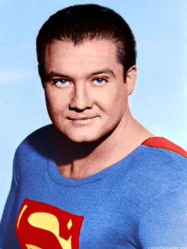 George Reeves. El primero en ponerse el traje de Superman y dar vida a Clark Kent para la televisión, en la teleserie Superman de 1951.