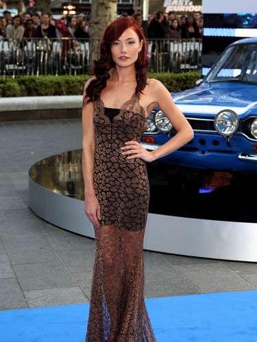 En la imagen aparece la actriz Clara Paget durante la premier de 'Rápidos y Furiosos 6' en Londreshace algunas semanas. Su papel como Vegh no pasó desapercibido para los fanáticos de la serie.